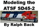 Modeling Santa Fe SD45-2