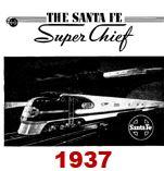 Advertising Brochure - Super Chief; 1937 (Bob Haben)