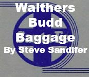 Model Review - Walthers Budd Baggage