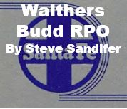 Model Review - Walthers Budd RPO