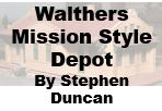 Model Review - Walthers Mission Style Depot