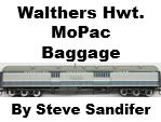 Model Review - Walthers Missouri Pacific Heavyweight Baggage