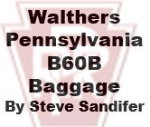 Model Review - Walthers Pennsylvania B600B Baggage