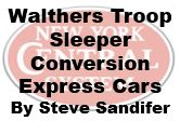 Model Review - Walthers Troop Sleeper Conversion Express Cars