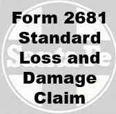 Form 2681 Standard - Loss and Damage Claim