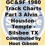 Gulf, Colorado & Santa Fe Track Chart - 1980 - Part 3