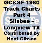 Gulf, Colorado & Santa Fe Track Chart - 1980 - Part 4