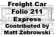 Freight Car Folio 211 - Expres Cars (Matt Zebrowski)