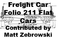 Freight Car Folio 211 - Flat Cars (Matt Zebrowski)