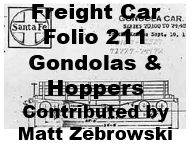 Freight Car Folio 211 - Gondolas and Hoppers (Matt Zebrowski)