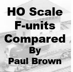 HO Scale F-units Compared