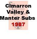 CLIC Book - Cimmaron Valley and Manter Subdivisions - 1987
