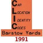 CLIC Book - Barstow Yard - 1991