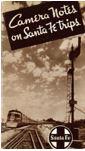 Brochure - Camera Notes on Santa Fe Trips