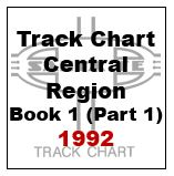 Track Chart - Central Region, Book 1 (Part 1) - 1992