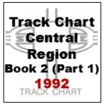 Track Chart - Central Region, Book 2 (Part 1) - 1992