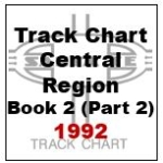 Track Chart - Central Region, Book 2 (Part 2) - 1992