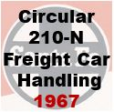 Circular 210-N: Instructions to santa Fe employees on Freight Car Handling - 1967