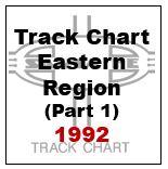 Track Chart - Eastern Region (Part 1) - 1992
