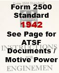 Form 2500 Standard - See ATSF Documents / Motive Power
