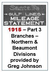 Gulf Lines Mileage Statement - Part 3 - 1915