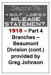 Gulf Lines Mileage Statement - Part 4 - 1915