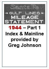 Gulf Lines Mileage Statement - Part 1 - 1944