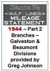 Gulf Lines Mileage Statement - Part 2 - 1944