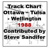 Track Chart - 1988 - Ottawa - Tulsa - Wellington