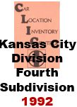 CLIC Book - Kansas City Division, Fourth Subdivision - 1992