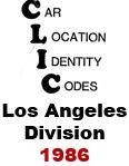 CLIC Book - Los Angeles Division - 1986