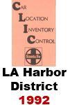CLIC Book - Los Angeles Harbor District- 1992