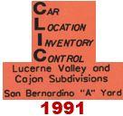CLIC Book - Lucerne Valley & Cajon - 1991