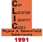 CLIC Book - Mojave & Bakersfield Subdivisions - 1991