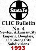 CLIC Book - Newton, Arkansas City, Emporia, Douglas & Strong City - 1993