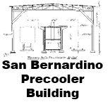 Santa Fe Drawings of San Bernardino Precooler Building
