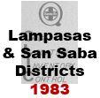 CLIC Book - Lampasas and San Saba Districts - 1983