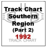 Track Chart - Southern Region (Part 2) - 1992