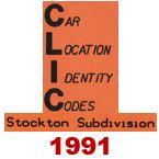 CLIC Book - Stockton Subdivision - 1991