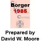 CLIC Book - Borger, Texas- 1985