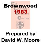 CLIC Book - Brownwood, Texas - 1983