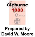 CLIC Book - Cleburne, Texas- 1983