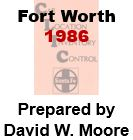 CLIC Book - Fort Worth, Texas- 1986