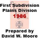 CLIC Book - First Subdivision, Plains Division - 1986