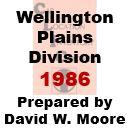 CLIC Book - Wellington Kansas, Plains Division - 1986