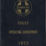 1953 Operating Rules cover