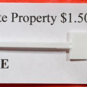 "HO Santa Fe ""private property"" sign"
