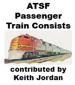Santa Fe Passenger Train Consists