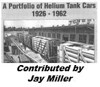 A Portfolio of Helium Tank Cars: 1926 to 1962