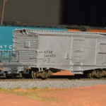 Model of scale tool car